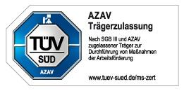 TÜV Logo AZAV